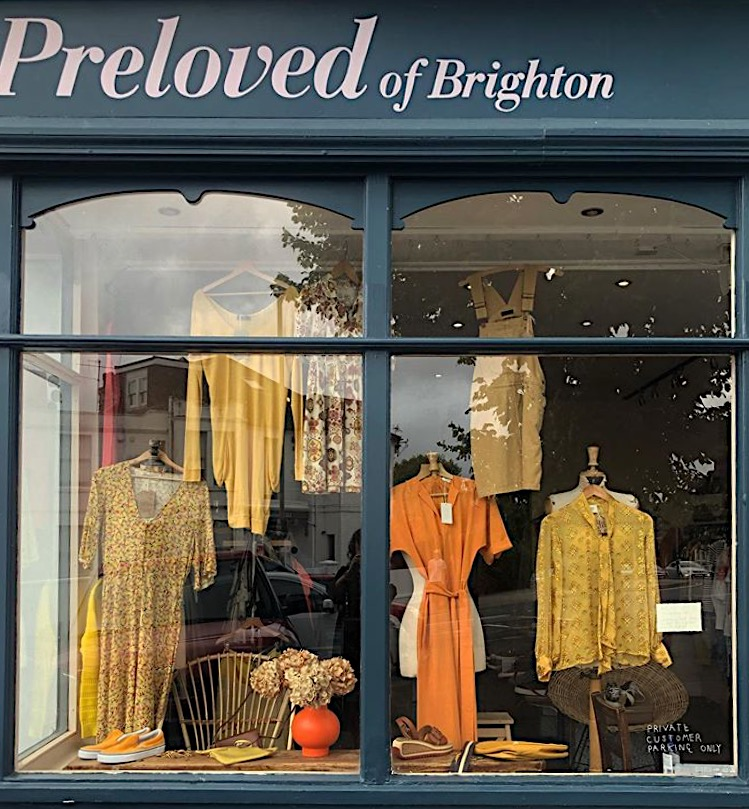 preloved of brighton second hand clothes shop
