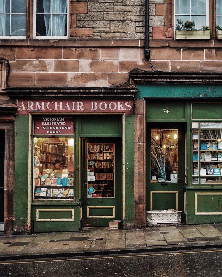 arm chair books edinburgh