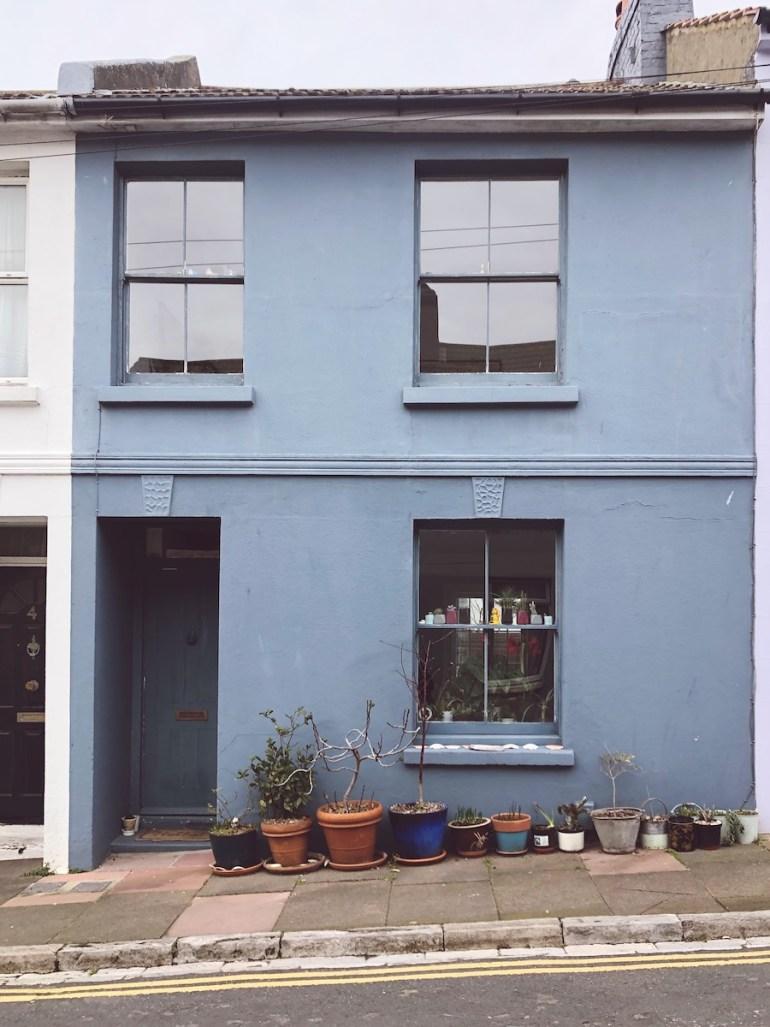 terraced house hanover brighton