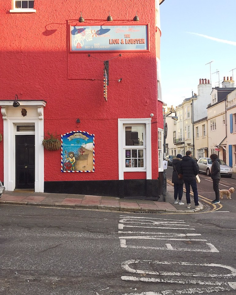 lion and lobster pub hove walking trail