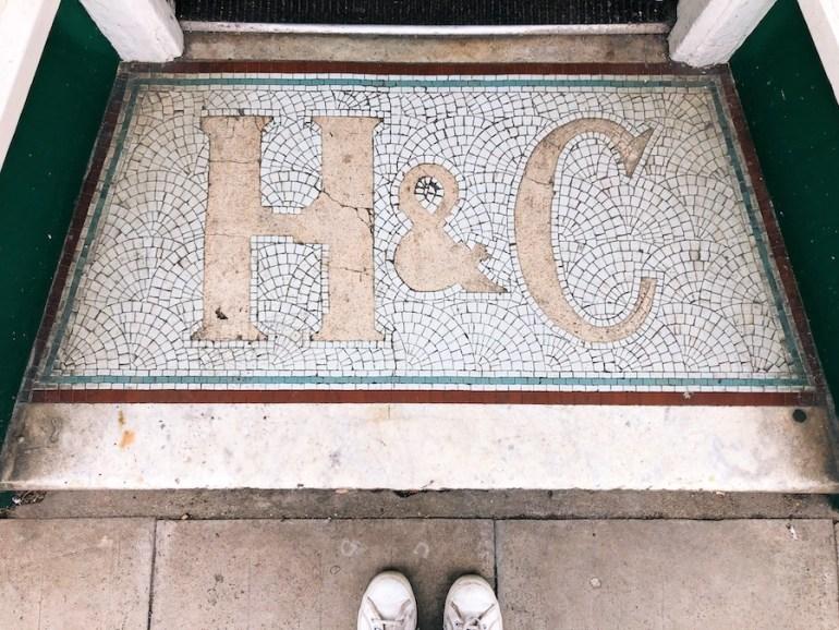 H&C floor mosaic western road hove