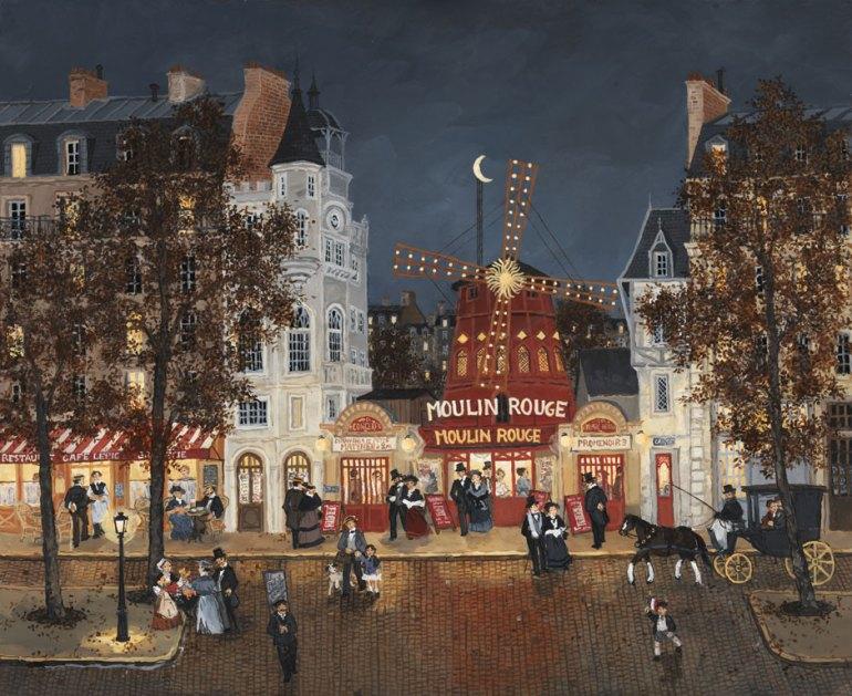 fabienne delacroix moulin rouge painting