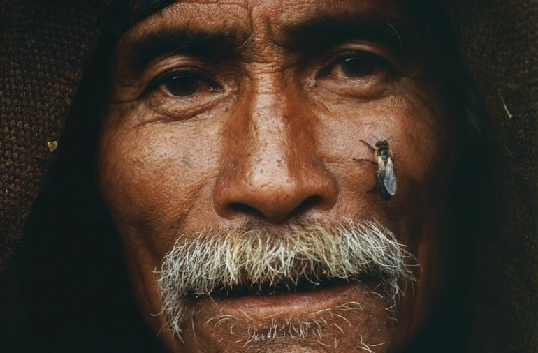 portrait honey hunter eric valli