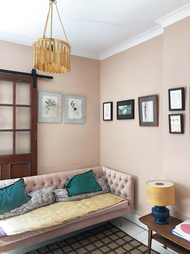 pink front room