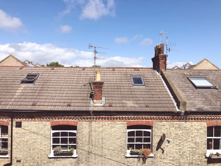 mews house rooftops