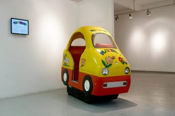 Toytown installed at the Newbery Gallery, Glasgow School of Art in 2009