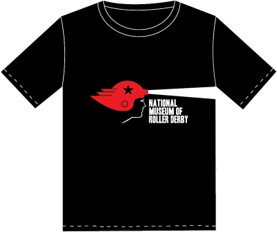 National Museum of Roller Derby T-Shirt