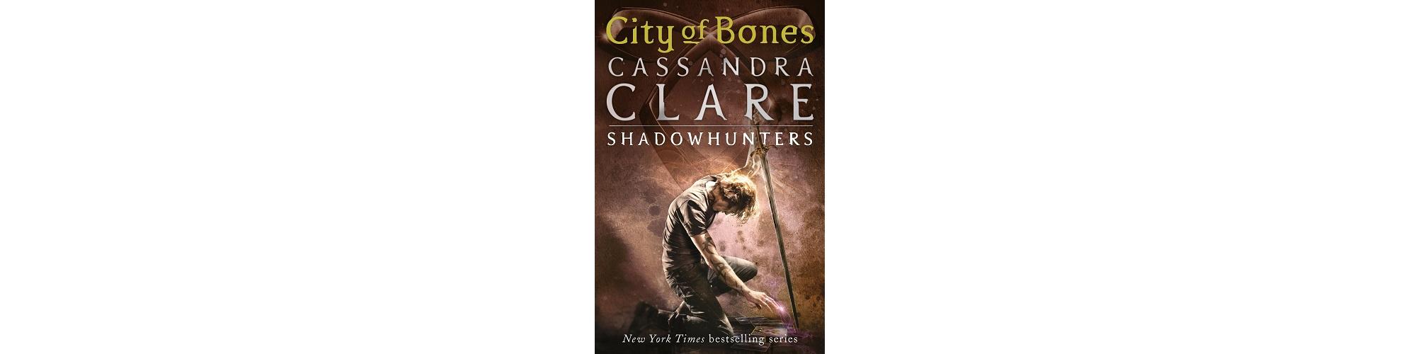 City of Bones by Cassandra Clare book cover