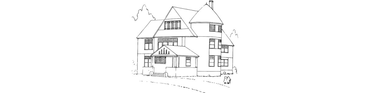 "House illustration - ""Future"" microfiction"