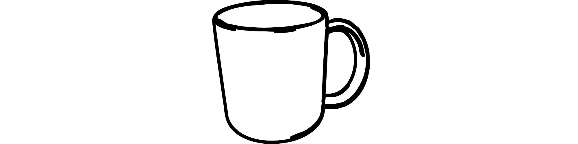 "Mug illustration - ""The Mug"" flash fiction"