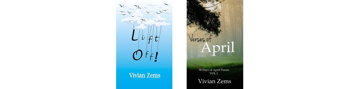 Lift Off! and Verses of April book covers