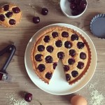 """""""Cherry Bakewell"""" Frangipane Tart with a little help from OXO UK"""