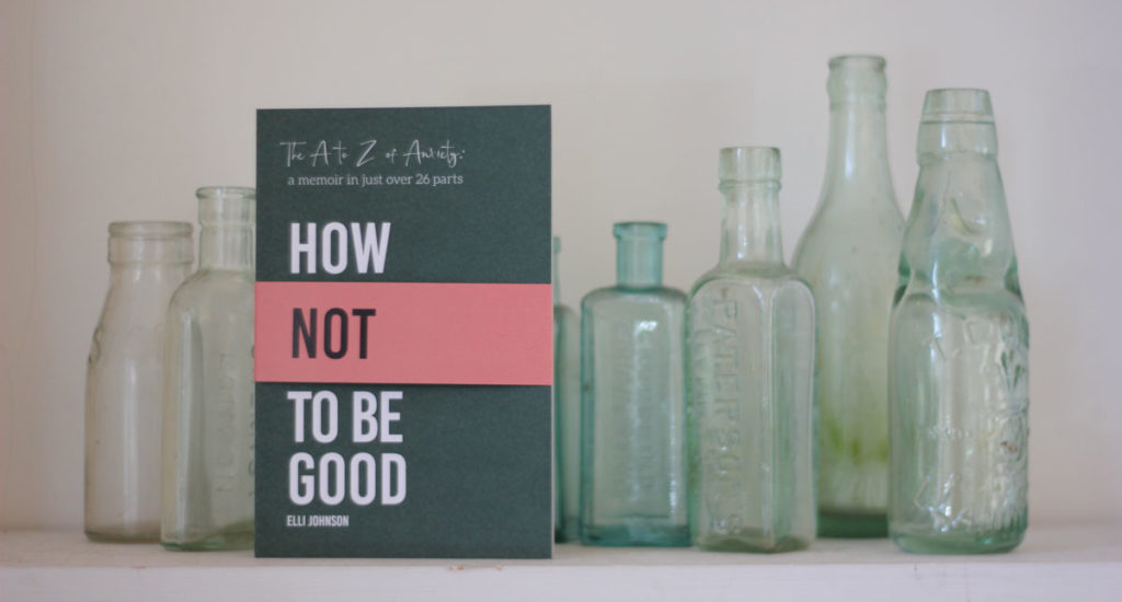 book and bottles