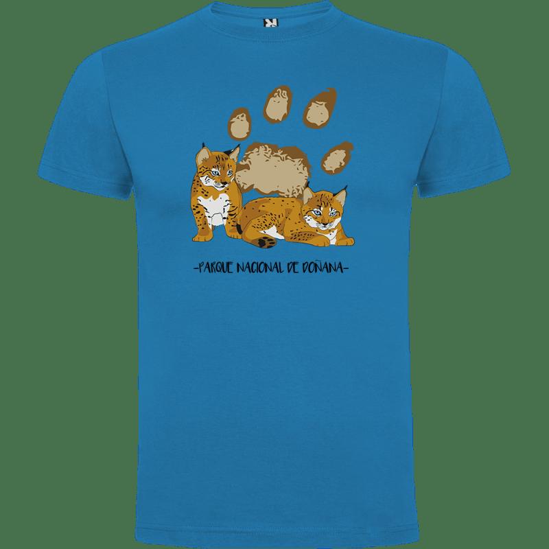 Camisetas cachorros y huella lince ibérico