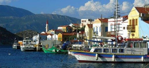 The eastern edge of Greece