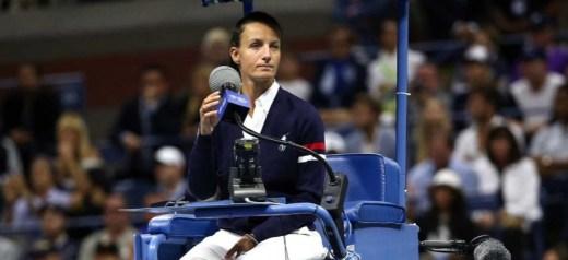 Η πρώτη γυναίκα διαιτητής σε τελικό US Open ανδρών