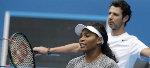 Serena Williams' coach
