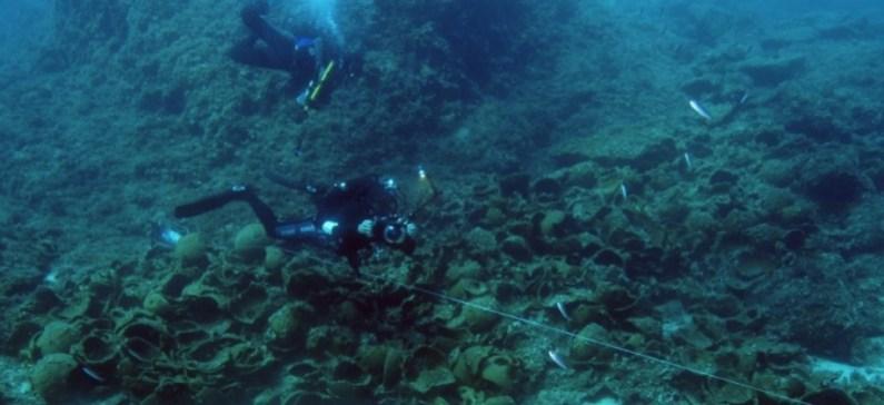 Εντοπίστηκαν 22 αρχαία ναυάγια στους Φούρνους