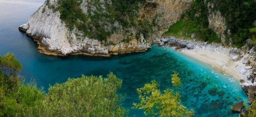 A Greek beach among the most impressive in the world