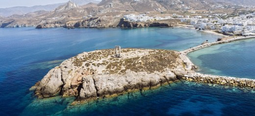 "CNN ""in love"" with the Greek island of Naxos"