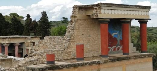 Νέα πορεία επισκεπτών στον αρχαιολογικό χώρο της Κνωσού