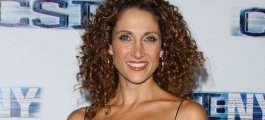"Melina Kanakaredes in the new tv series ""Notorious"""