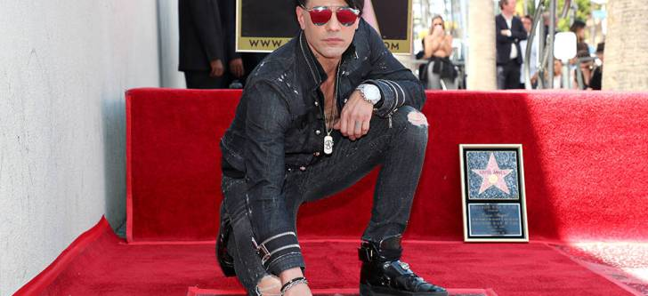 Criss Angel receives star on Walk of Fame