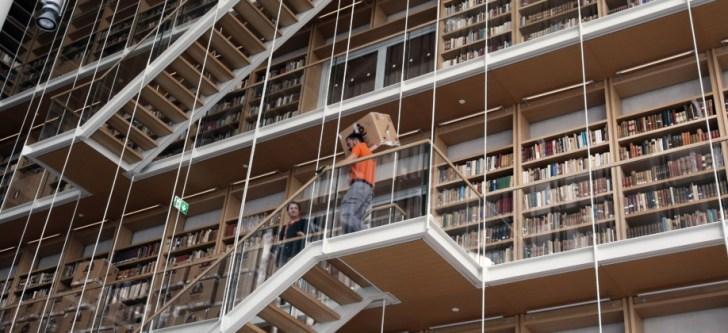 Ξεκίνησε η μεταφορά των συλλογών της Εθνικής Βιβλιοθήκης στις νέες εγκαταστασεις στο Κέντρο Πολιτισμού Ίδρυμα Σταύρος Νιάρχος