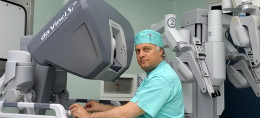 The doctor who revolutionized Laparoscopic and Robotic Surgery in Greece.