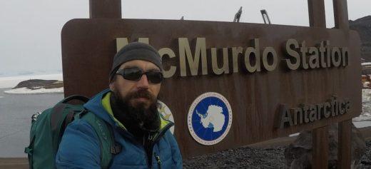 A Greek Geologist in Antartica