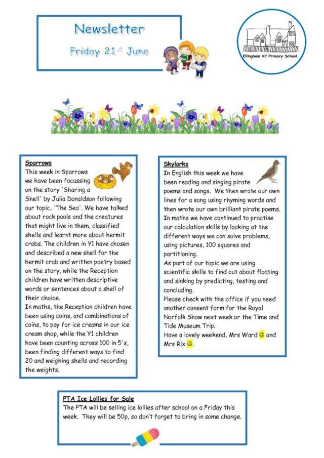 thumbnail of Newsletter 21.06.19