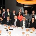 Ο Νομαρχης Ρεθυμνης κ. Γεωργιος Παπαδακης σε δειπνο προς τιμη του απο το Ελληνο Αυστραλιανο Εμπορικο Επιμελητηριο με τον Προεδρο κ. Νικο Μυλωνα.