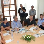 Φωτογραφικό στιγμιότυπο από τη συνεδρίαση τής Επιτροπής.