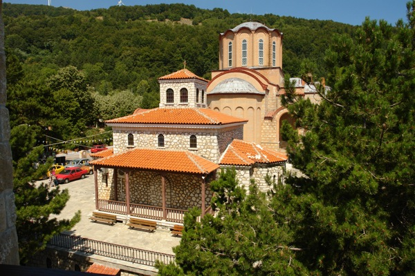Kloster Panagia Soumela, Kastania