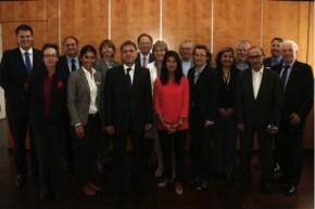 Der neu gegründete IdAH-Beirat in seiner konstituierenden Sitzung / © Handwerkskammer zu Köln