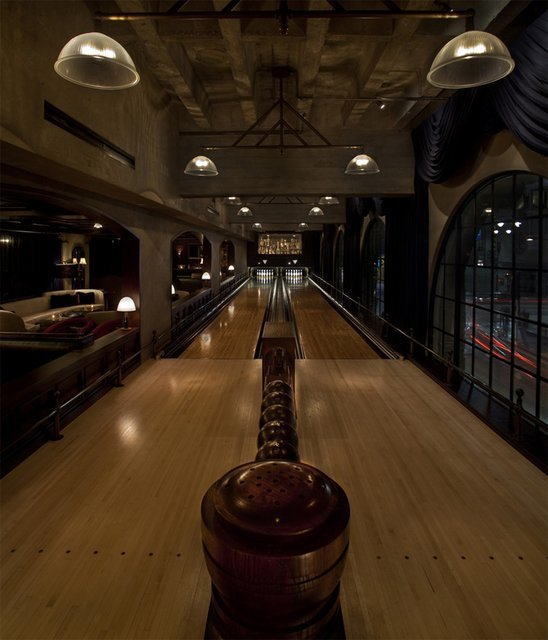 Bowling Alley, Hollywood Roosevelt Hotel