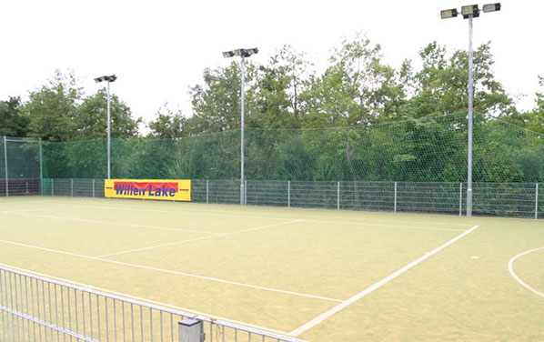 Floodlighting for multi use games area by Elliott Courts.