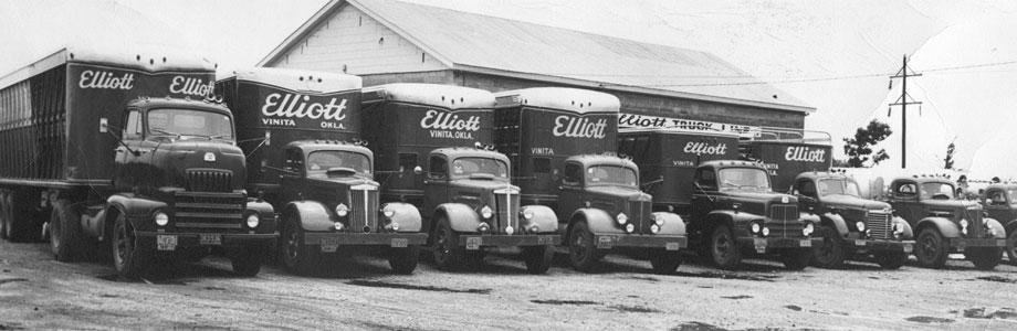 History Elliott Truck Line