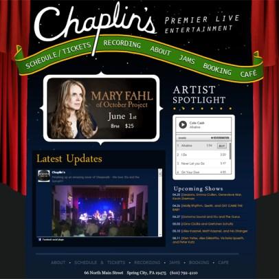Chaplin's Premier Live Entertainment