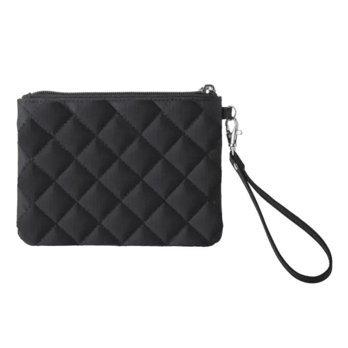 Black Wristlet Glam Bag