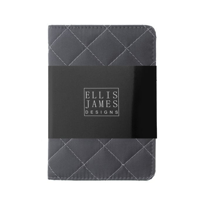 Grey Travel Passport Keeper