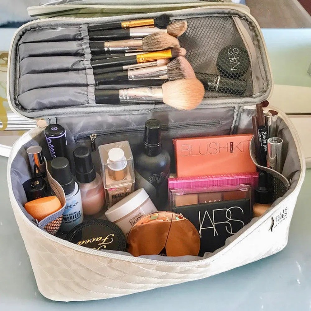 Large Cosmetic Organizer Sarah and Deanna - Ellis James Designs Family Babes