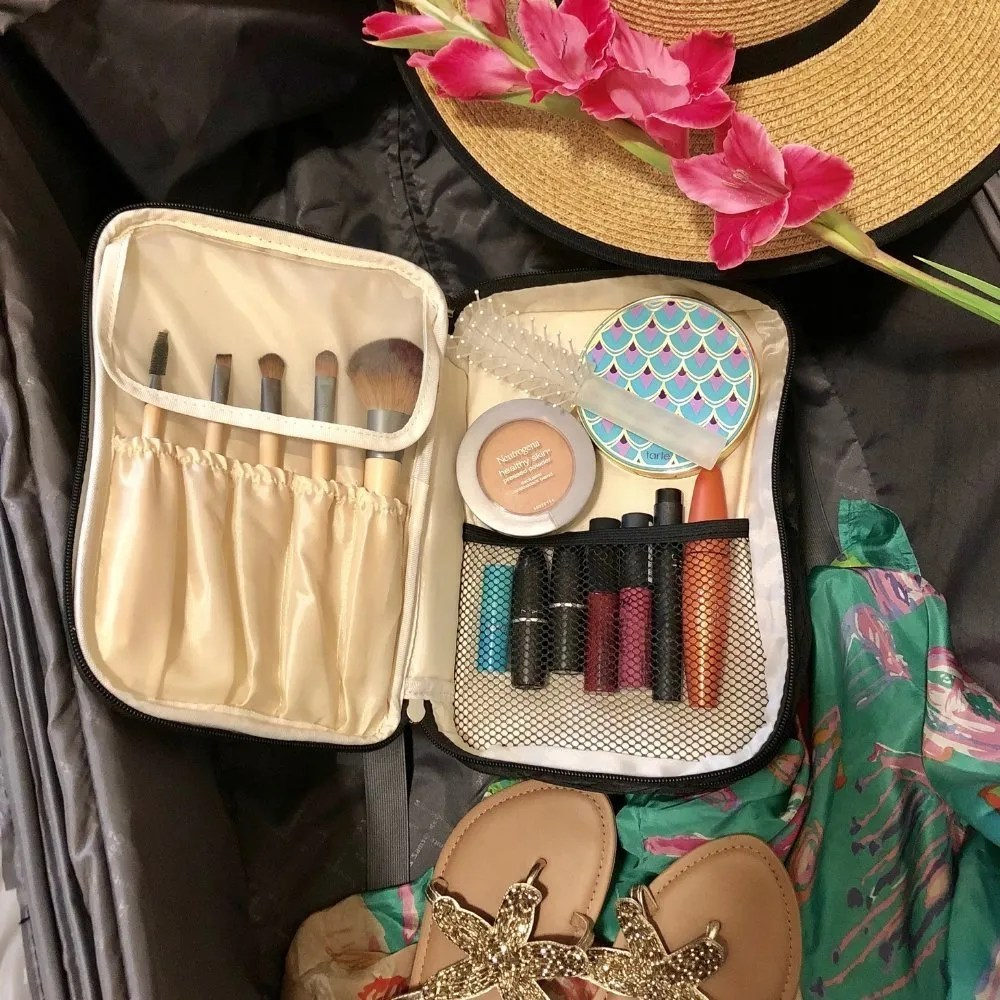 Camila - Ellis James Designs Babes Tall Cosmetic Bag