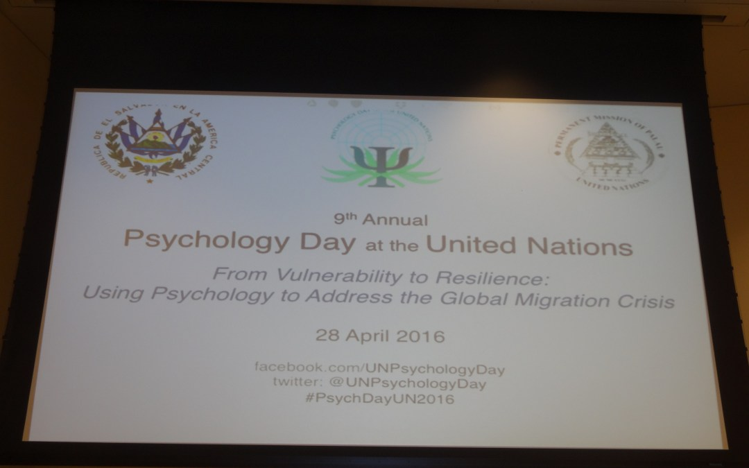 Dr Joffe Ellis Attends 9th Annual Psychology Day at the United Nations in NYC
