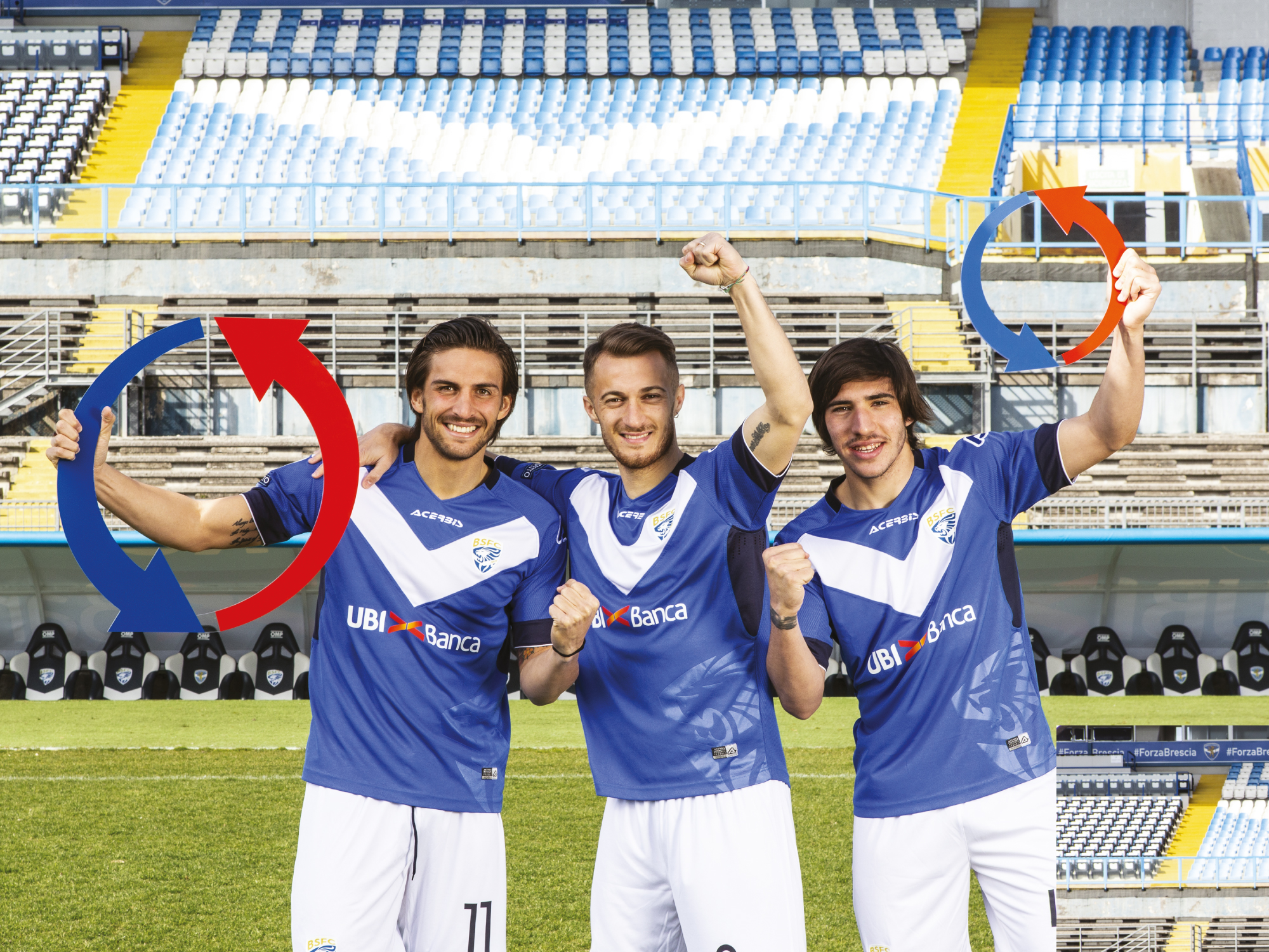CAMPAGNA ADV PER GENERAL FITTINGS, PARTNER BRESCIA CALCIO