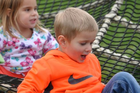 Our spider web provides lots of fun for kids in Saratoga!