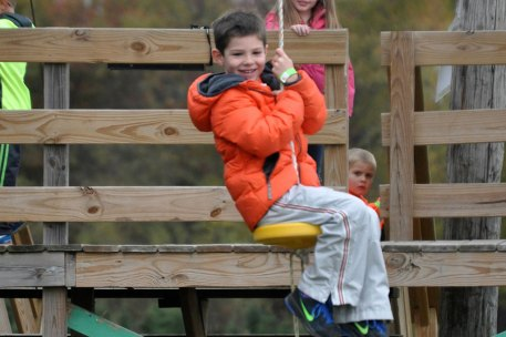 Zip Line at Ellms Family Farm in Ballston Spa, NY