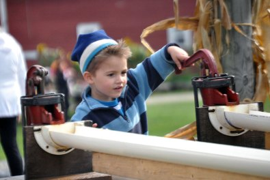 Duck Races at Ellms Family Farm - fun kids activities galore!
