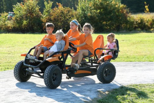 Pedal Carts at Ellms Family Farm - Kids fun near Saratoga Springs