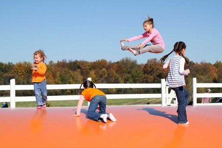 Jumping Pad at Ellms Family Farm